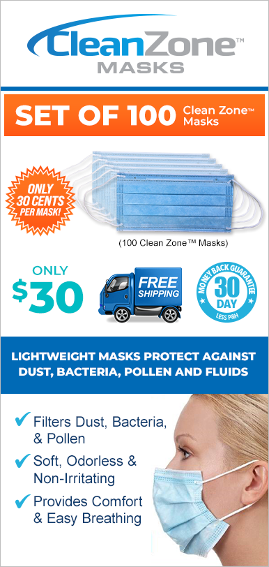 Order Clean Zone™ Masks Now!